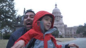 Jason Da Silva con il figlio 3