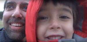 Jason Da Silva con il figlio 2